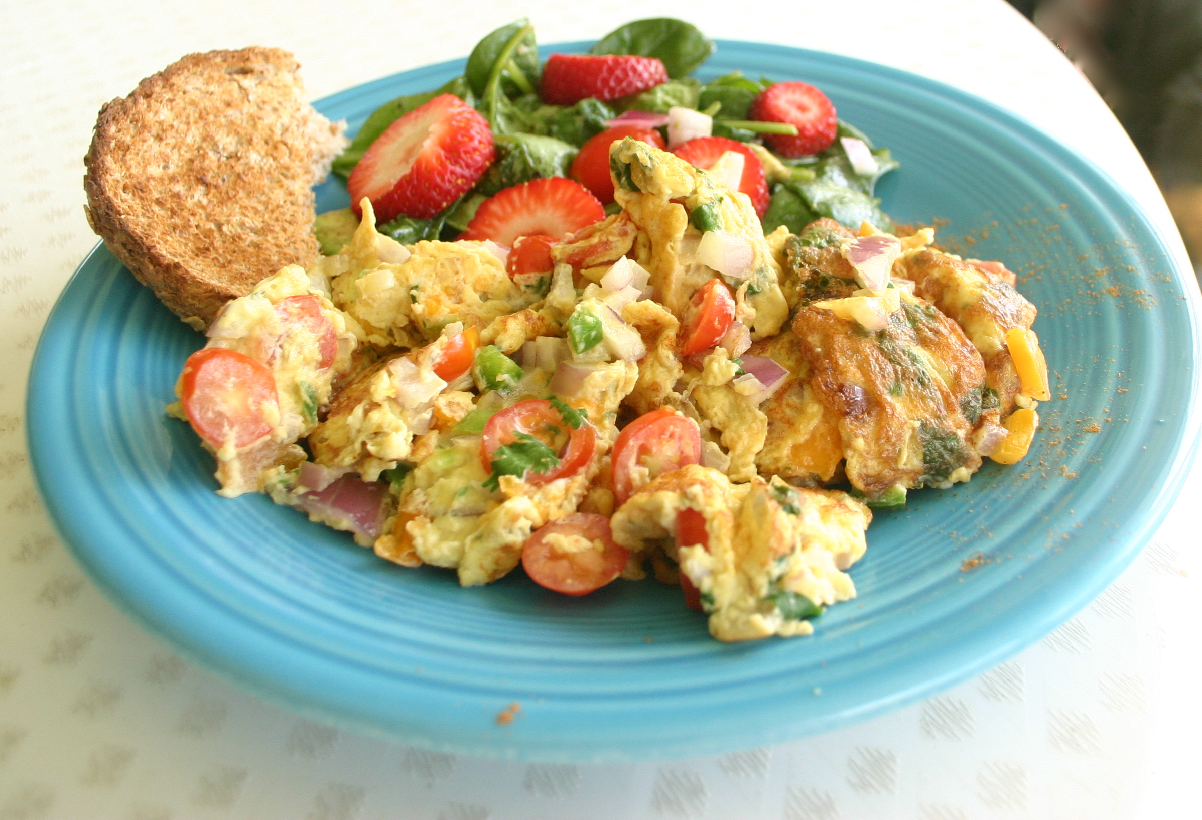 Indian Omelet Recipe — Dishmaps